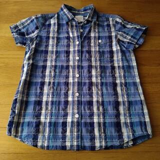 ザノースフェイス(THE NORTH FACE)のノースフェイス 半袖シャツ ブルー(シャツ/ブラウス(半袖/袖なし))