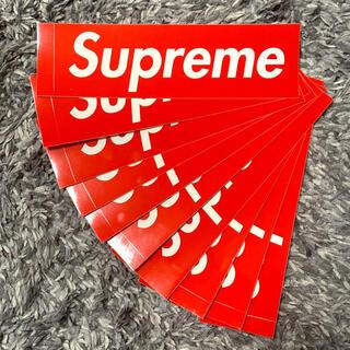 Supreme - Supreme シュプリーム  ボックスロゴ ステッカー 10枚セット