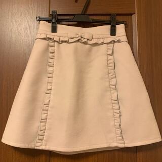 アンクルージュ(Ank Rouge)のAnk Rouge リボンスカート(ミニスカート)