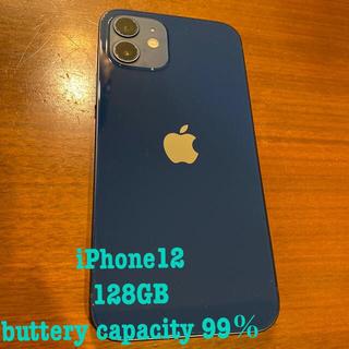 iPhone - 【超美品】国内版SIMフリー iPhone12 128GB 電池容量99%