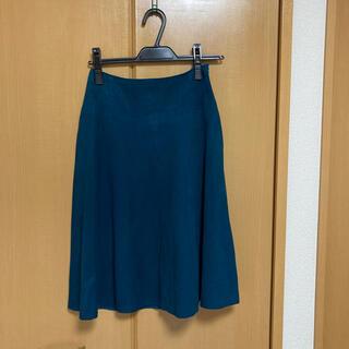 エヌナチュラルビューティーベーシック(N.Natural beauty basic)のフレアスカート (ひざ丈スカート)