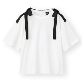 アンダーカバー(UNDERCOVER)のGU UNDERCOVER アンダーカバー リボンデザインT Tシャツ(カットソー(半袖/袖なし))