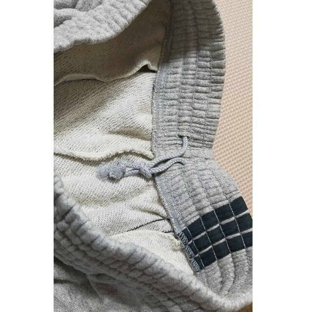 adidas(アディダス)の☆adidas アディダス スエット ハーフパンツ グレー L メンズのパンツ(ショートパンツ)の商品写真