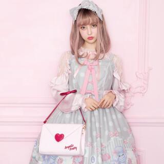 アンジェリックプリティー(Angelic Pretty)の【15日まで】lovely poodle jsk+kc(ひざ丈ワンピース)
