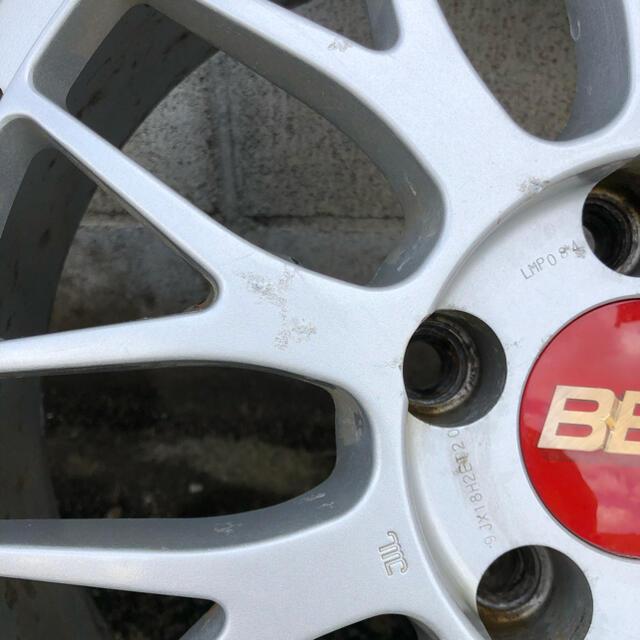 希少サイズ BBS LM 18インチ 9j 10j 自動車/バイクの自動車(タイヤ・ホイールセット)の商品写真
