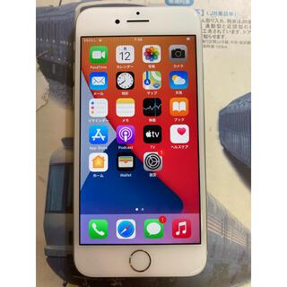 アイフォーン(iPhone)の[美品]iPhone 8 Silver 64 GB SIMフリー(スマートフォン本体)