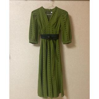 moussy - COTTON EYELET ロングドレス ベルトは別で出品しています。