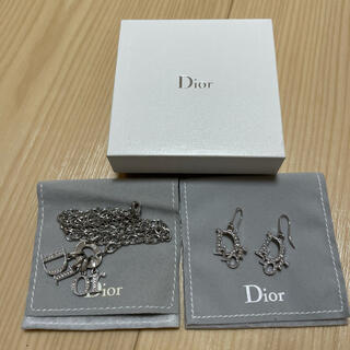 Christian Dior - ♡Diorピアス&ネックレスセット♡箱、保存袋付