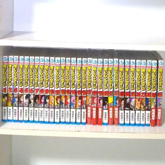 集英社(シュウエイシャ)の僕のヒーローアカデミア  全巻  1~30巻 エンタメ/ホビーの漫画(全巻セット)の商品写真