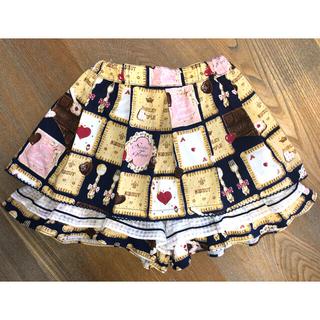 Shirley Temple - シャーリーテンプル チョコビスケット キュロット スカート 130