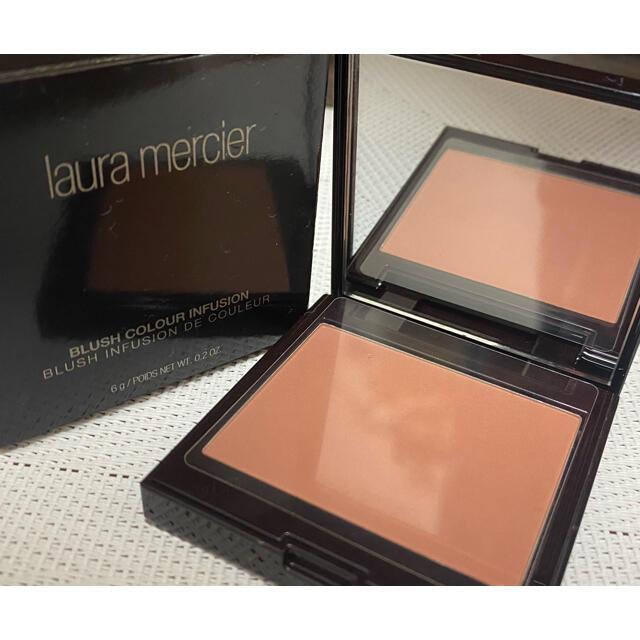 laura mercier(ローラメルシエ)のローラ メルシエ ブラッシュ カラー インフュージョン 06 チャイ 6g コスメ/美容のベースメイク/化粧品(チーク)の商品写真