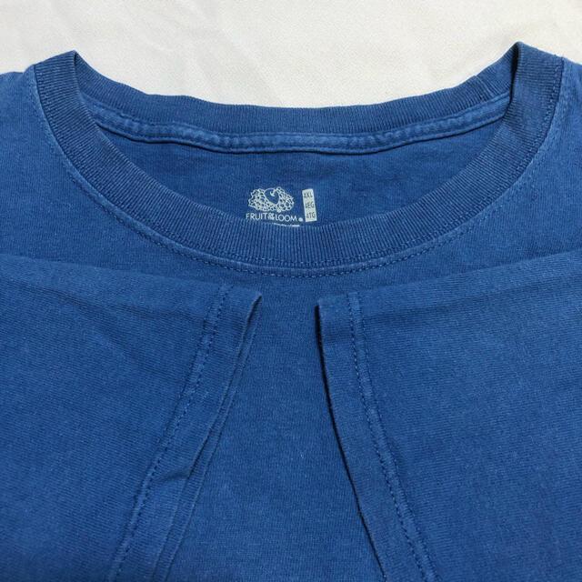 134 USA 古着 FRUIT OF THE LOOM 半袖Tシャツ 4XL メンズのトップス(Tシャツ/カットソー(半袖/袖なし))の商品写真