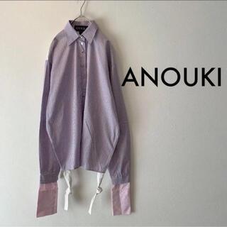 サカイ(sacai)のANOUKI デザインシャツ(シャツ/ブラウス(長袖/七分))