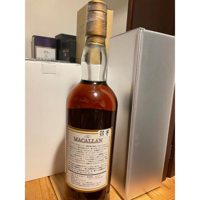 マッカラン12年 旧ボトル 750ml 43% ウイスキー 食品/飲料/酒の酒(ウイスキー)の商品写真