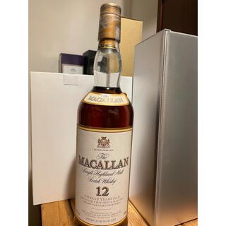 マッカラン12年 旧ボトル 750ml 43% ウイスキー