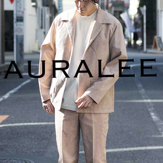 1LDK SELECT - AURALEE HEMP CORDUROY JACKET 定価4万