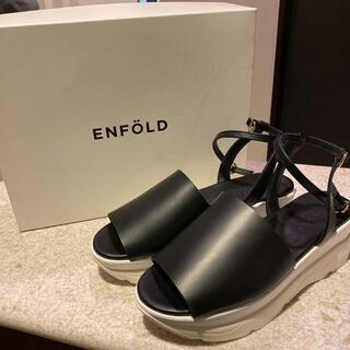ENFOLD - 訳ありエンフォルド サンダル37