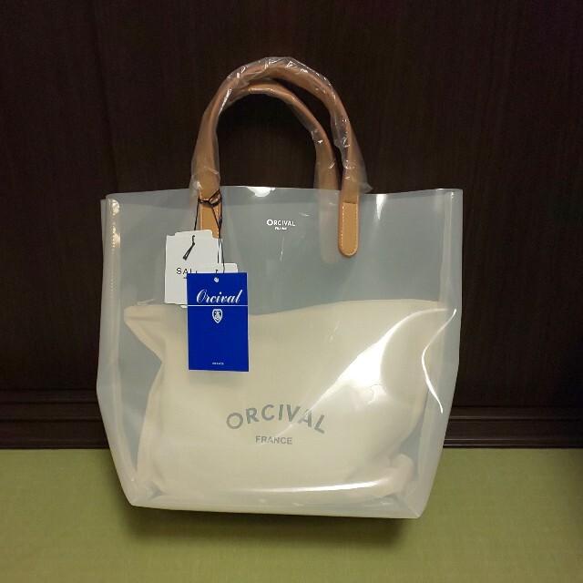ORCIVAL(オーシバル)の最終値下げ【新品】オーシバル クリアバッグ トート(大) アダムエロペ レディースのバッグ(トートバッグ)の商品写真