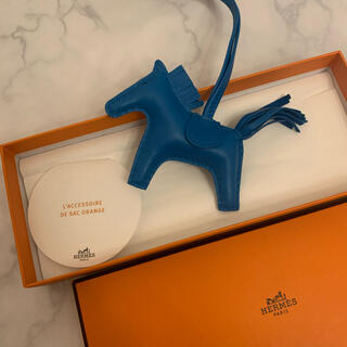 Hermes - Hermèsエルメス♡貴重ロデオ♡ブルーザンジバル単色rodeocharm