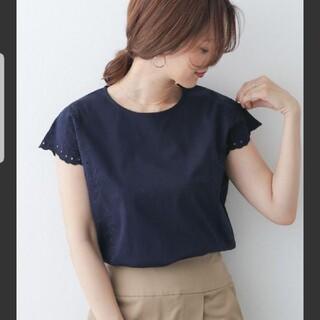 DOORS / URBAN RESEARCH - 美品 アーバンリサーチドアーズ 春夏 刺繍 ブラウス トップス 半袖