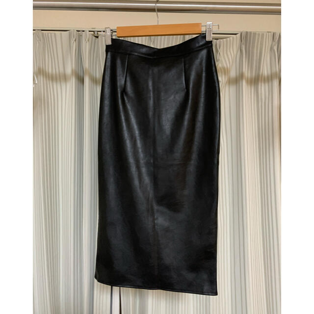 ANAP(アナップ)のANAP アナップ レザータイトスカート レディースのスカート(ひざ丈スカート)の商品写真
