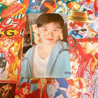 セブンティーン(SEVENTEEN)のgoing seventeen magazine トレカ ウジ(K-POP/アジア)
