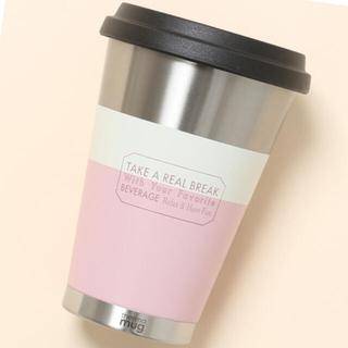 アフタヌーンティー(AfternoonTea)の新製品‼️ カラーモバイルタンブラー(Thermomug/サーモマグ)ピンク(水筒)