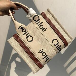 Chloe - Chloe  Woody Tote Bag❤️スモールトートバッグ