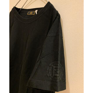 FENDI - FENDI 袖 刺繍ロゴTシャツ