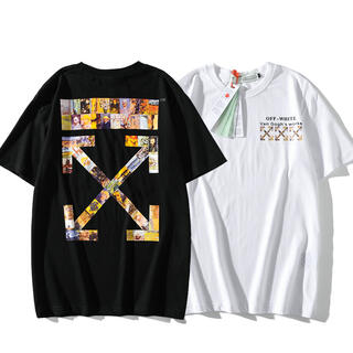 OFF-WHITE - 2枚1万円 自由に組み合わせ OFF-WHITE シャツ 男女兼用 DO27