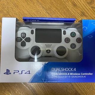 PlayStation4 - PS4 DUALSHOCK4純正 グレイシャーホワイト