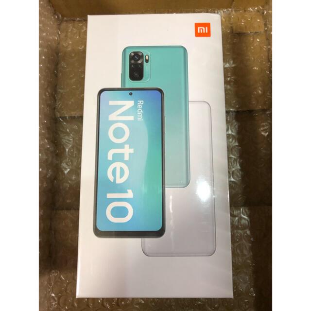 ANDROID(アンドロイド)の最新型 Xiaomi Redmi Note 10 Global Version スマホ/家電/カメラのスマートフォン/携帯電話(スマートフォン本体)の商品写真