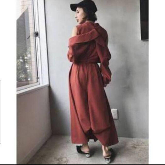 Ameri VINTAGE(アメリヴィンテージ)のameri FRONT PLEATS LONG DRESS レディースのワンピース(ロングワンピース/マキシワンピース)の商品写真