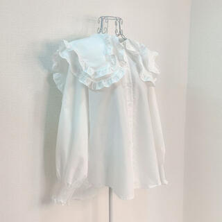 Honey mi Honey - 新品 big frill collar blouse