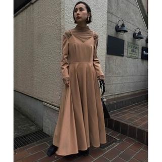 Ameri VINTAGE - Ameri VINTAGE SEETHROUGH SHOULDER DRESS