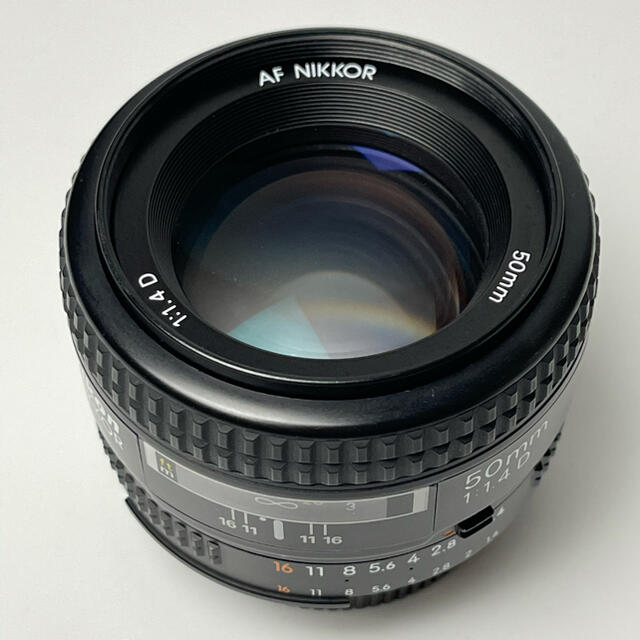 Nikon(ニコン)のAF NIKKOR 50mm 1.4D スマホ/家電/カメラのカメラ(レンズ(単焦点))の商品写真