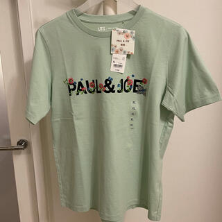 UNIQLO - ユニクロ ポール&ジョー ロゴTシャツ グリーン XL