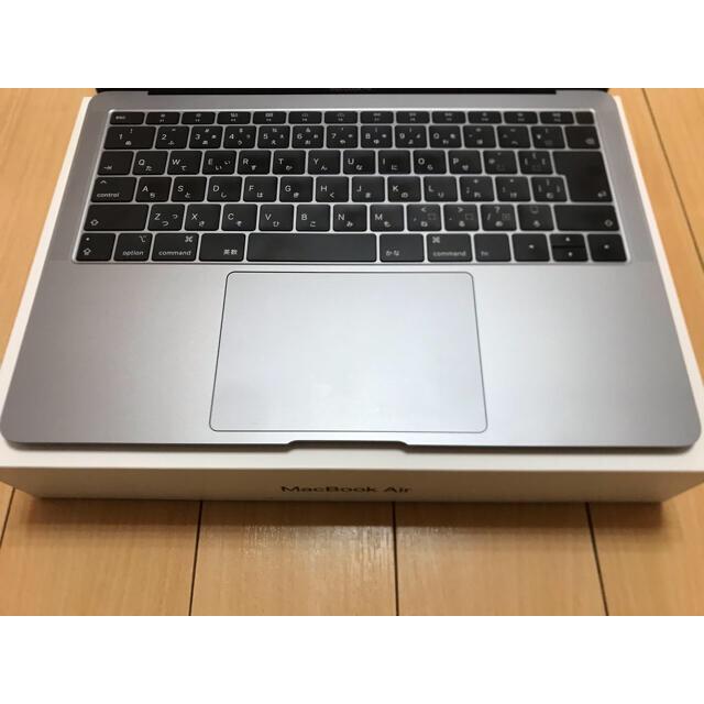 Apple care 済みMacbook air 2018  Office 付き スマホ/家電/カメラのPC/タブレット(ノートPC)の商品写真