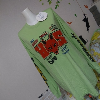 HYSTERIC GLAMOUR - ヒステリックグラマー 新品 ロゴ カットソー BIG シルエット ロンT