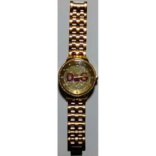 ドルチェアンドガッバーナ(DOLCE&GABBANA)の【新品同様】ドルチェ&ガッバーナ メンズ 腕時計 新品購入時の全てが付いてます。(腕時計(アナログ))