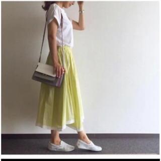 Drawer - Drawer 裾パイピング ギャザースカート