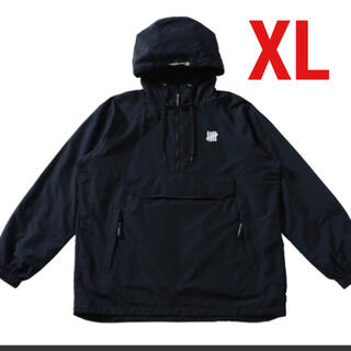 アンディフィーテッド(UNDEFEATED)のアンディフィーテッド アノラック ブラック XL(ナイロンジャケット)
