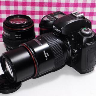 Nikon - ❤思い出たくさん❤Nikon D70 一眼レフカメラ・届いた日から撮影が可能♪