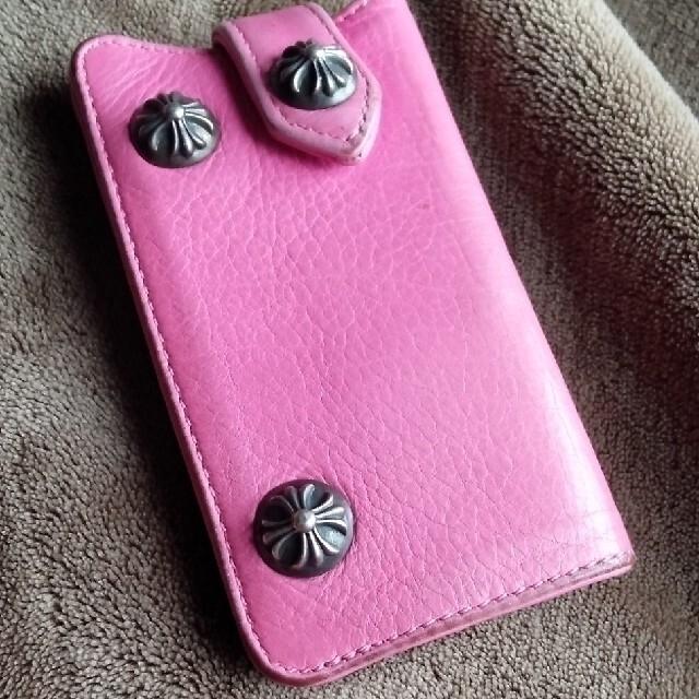 Chrome Hearts(クロムハーツ)のCHROME HEARTS キーケース ピンク メンズのファッション小物(キーケース)の商品写真
