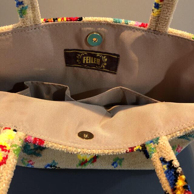 FEILER(フェイラー)のFEILER フェイラー トートバッグ ハイジ HE-176009 ベージュ レディースのバッグ(トートバッグ)の商品写真