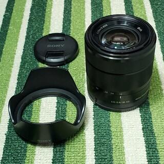 SONY - E 18-55mm F3.5-5.6 OSS ブラック(SEL1855)