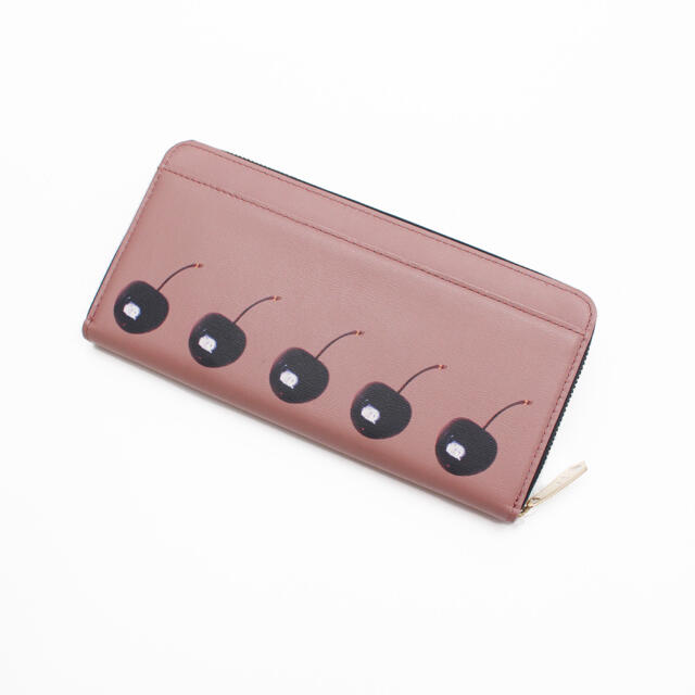 Paul Smith(ポールスミス)の新品未使用 ポールスミス レザー スティルライフブルームチェリー 長財布 レディースのファッション小物(財布)の商品写真