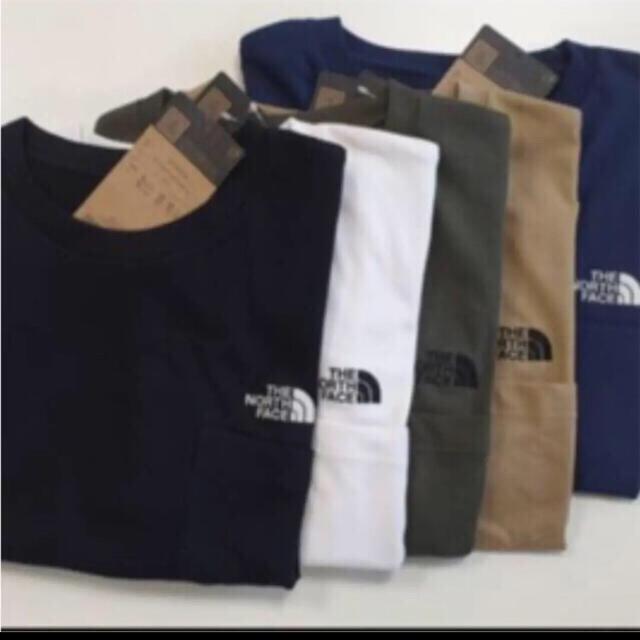 THE NORTH FACE(ザノースフェイス)の【未開封新品】ノースフェイス ポケットTシャツ ワンポイント刺繍 各種カラー メンズのトップス(Tシャツ/カットソー(半袖/袖なし))の商品写真