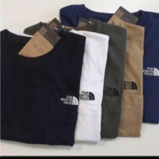 THE NORTH FACE - 【未開封新品】ノースフェイス ポケットTシャツ ワンポイント刺繍 各種カラー
