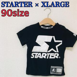 エクストララージ(XLARGE)のXLARGE STARTER エクストララージ スターター コラボTシャツ 90(Tシャツ/カットソー)